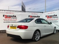 USED 2012 12 BMW 3 SERIES 2.0 320d M Sport 2dr FULL LEATHER+FULL MOT+HISTORY