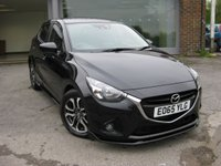 USED 2015 65 MAZDA 2 1.5 SPORT NAV 5d 89 BHP Navigation Cruise Control Bluetooth Full Mazda History Alloy Wheels