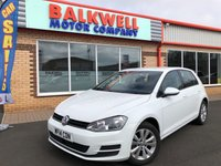 2014 VOLKSWAGEN GOLF 1.6 SE TDI BLUEMOTION TECHNOLOGY 5d 103 BHP £8999.00