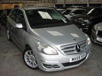 2009 MERCEDES-BENZ B CLASS 2.0 B200 CDI SPORT 5d AUTO 140 BHP £5980.00