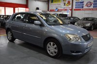 2004 TOYOTA COROLLA 1.6 T3 COLOUR COLLECTION VVT-I 5d 109 BHP £1600.00
