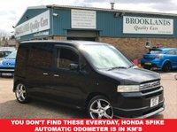 2015 HONDA SPI Spike 1.5 Automatic 5 Door Black With Grey Cloth Sliding Rear Doors £2695.00