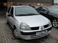 2005 RENAULT CLIO 1.4 EXPRESSION 16V 5d AUTO 98 BHP £SOLD