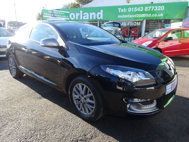 USED 2013 63 RENAULT MEGANE 1.5 KNIGHT EDITION ENERGY DCI S/S 3d 110 BHP CALL TODAY ON 01543 877320 TO TEST DRIVE