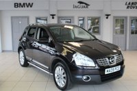 USED 2009 09 NISSAN QASHQAI 2.0 SOUND AND STYLE DCI 5d 148 BHP EXCELLENT SERVICE HISTORY + PANORAMIC ROOF + BLUETOOTH + 18 INCH ALLOYS + PARKING SENSORS + CRUISE CONTROL + BOSE SOUND SYSTEM + AIR CONDITIONING