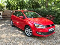 2014 VOLKSWAGEN POLO 1.2 MATCH EDITION 3d 59 BHP £7489.00