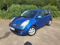 2007 NISSAN NOTE 1.6 SE 5d AUTO 109 BHP