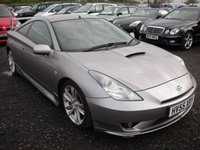2005 TOYOTA CELICA 1.8 GT T-SPORT VVTL-I 3d 190 BHP £2195.00