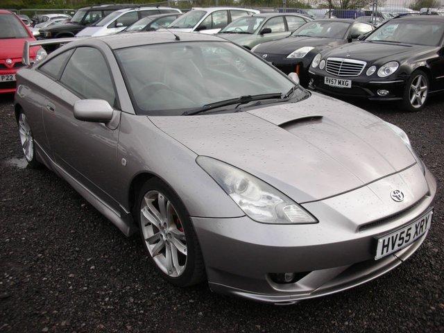 2005 55 TOYOTA CELICA 1.8 GT T-SPORT VVTL-I 3d 190 BHP