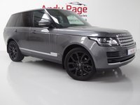 USED 2015 15 LAND ROVER RANGE ROVER 3.0 TDV6 VOGUE 5d AUTO 255 BHP