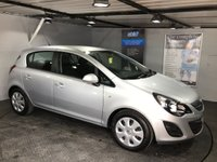 USED 2014 64 VAUXHALL CORSA 1.4 DESIGN AC 5d 98 BHP lovely little car, air con, aux socket