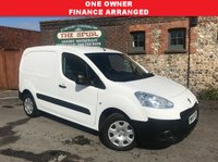 USED 2015 15 PEUGEOT PARTNER 1.6 HDI S L1 850 1d 89 BHP One Owner, Finance Arranged, Smart Example.
