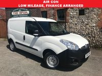 USED 2015 15 VAUXHALL COMBO VAN 1.2 2000 L1H1 CDTI 1d 90 BHP Air Conditioning, One Owner, Finance Arranged, Low Mileage.