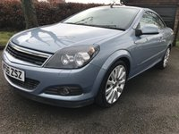 USED 2006 56 VAUXHALL ASTRA 2.0 TWIN TOP DESIGN 3d 200 BHP