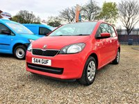 USED 2014 14 SKODA CITIGO 1.0 SE 12V 3d  AIR CONDITIONING / 2 KEYS