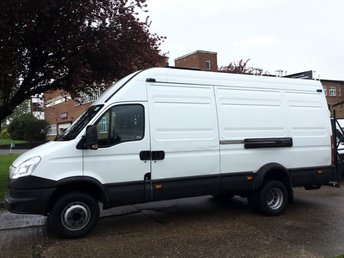 2013 IVECO-FORD DAILY 70C17 3.0 170BHP VAN. TWIN WHEEL 7.0T EXTRA LWB. ONLY 86K. FSH. £12990.00