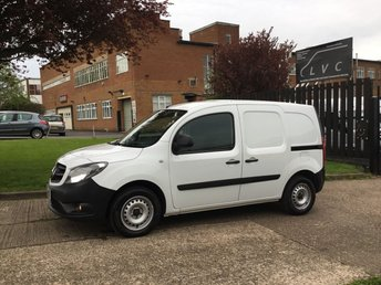2015 MERCEDES-BENZ CITAN 1.5 109CDI LONG 90BHP LWB. 1 OWNER. FSH. VERY LOW 31,000 MILES. £6450.00