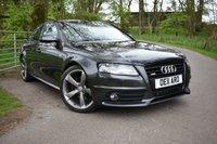 2011 AUDI A4 2.0 TDI S LINE BLACK EDITION 4d 134 BHP £11995.00