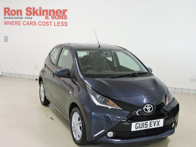 View our 2015 15 TOYOTA AYGO 1.0 VVT-I X-PRESSION 5d 69 BHP