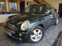 USED 2006 06 MINI CONVERTIBLE 1.6 COOPER 2d 114 BHP