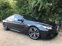 2013 BMW M6 Gran Coupe 4.4 M6 GRAN COUPE 4d AUTO 553 BHP £31995.00