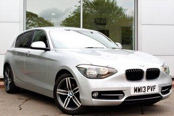2013 BMW 1 SERIES 1.6 114I SPORT 5d 101 BHP £8689.00