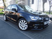 USED 2013 13 AUDI A1 1.6 SPORTBACK TDI SPORT 5d 103 BHP ***FINANCE & PART EXCHANGE WELCOME*** £0 FREE TAX*BLUETOOTH PHONE*AIR/CON*CD PLAYER*AUX*AUDI SH*STOP/START