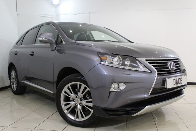 View our 2013 63 LEXUS RX 3.5 450H LUXURY 5DR 295 BHP