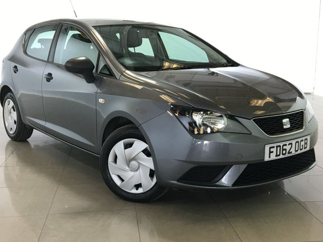 View our 2012 62 SEAT IBIZA 1.2 CR TDI S 5d 74 BHP