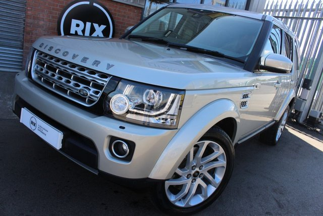 2014 14 LAND ROVER DISCOVERY 3.0 SDV6 HSE 5d AUTO-1 OWNER CAR-7 SEATS
