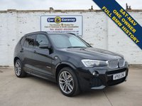 USED 2015 65 BMW X3 3.0 XDRIVE30D M SPORT 5d AUTO 255 BHP 1 Owner Full BMW History NAV 0% Deposit Finance Available