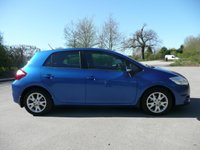 USED 2012 12 TOYOTA AURIS 1.6 VALVEMATIC COLOUR COLLECTION 5d 130 BHP