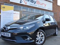 2016 TOYOTA AURIS 1.2 VVT-I BUSINESS EDITION 5d 114 BHP £SOLD