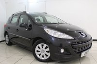 USED 2012 62 PEUGEOT 207 1.6 HDI SW ACTIVE 5DR 92 BHP SERVICE HISTORY + SAT NAVIGATION + PARKING SENSOR + AIR CONDITIONING + AUXILIARY PORT + RADIO/CD + ELECTRIC WINDOWS