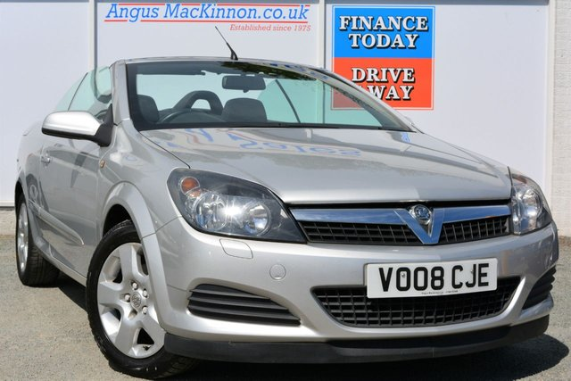2008 08 VAUXHALL ASTRA 1.8 TWIN TOP 2d Convertible Great Low Mileage