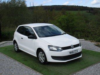 2011 VOLKSWAGEN POLO 1.2 S 3d 60 BHP £4900.00