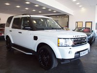USED 2014 63 LAND ROVER DISCOVERY 3.0 4 SDV6 HSE 5d AUTO 255 BHP BLK PACK+PAN ROOF+7 SEATS+FSH