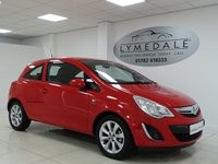 USED 2012 12 VAUXHALL CORSA 1.0 ACTIVE AC ECOFLEX 3d 64 BHP FULL DEALER HISTORY,  £30 TAX, LOW RUNNING COSTS