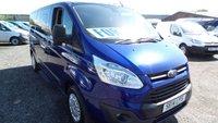 2014 FORD TOURNEO CUSTOM 2.2 300 ZETEC TDCI 5d 124 BHP £13395.00