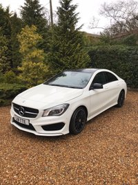 USED 2014 64 MERCEDES-BENZ CLA 2.0 CLA250 AMG SPORT 4MATIC 4d AUTO 211 BHP TOP SPEC CLA AMG SPORT AUTOMATIC PAN ROOF SAT NAV HEATED SEATS ONLY 30000 MILES BACKED UP BY FMSH