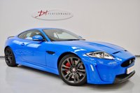2011 JAGUAR XKR-S 5.0 XKR-S 2d AUTO FRENCH RACING BLUE MODERN CLASSIC