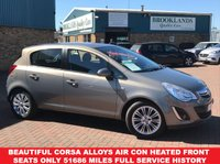 USED 2011 61 VAUXHALL CORSA 1.2 SE 5 Door  83 BHP Pepper Dust Metallic Heated Front Seats Beautiful Corsa with Huge Spec inc Alloys Air Con Heated Front Seats only 51686 miles Full Service History