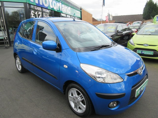 USED 2010 10 HYUNDAI I10 1.2 COMFORT 5d 77 BHP .. CALL 01543 379066 TO ARRANGE TEST DRIVE TODAY