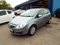USED 2010 60 VAUXHALL CORSA 1.2 S 5d 83 BHP FREE 12 MONTH AA ROADSIDE RECOVERY INCLUDED