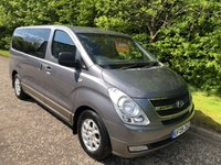 USED 2009 09 HYUNDAI I800 2.5 STYLE CRDI 5dr 8 SEATS 168 BHP 6 MONTHS PARTS+ LABOUR WARRANTY+AA COVER