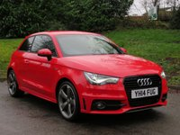 USED 2014 14 AUDI A1 2.0 TDI S LINE BLACK EDITION 3d 143 BHP 1 OWNER, FULL ( AUDI ) HISTORY