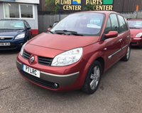 USED 2006 RENAULT SCENIC 1.6 DYNAMIQUE VVT 5d 110 BHP **Low Mileage 1 Former Keeper 12 Months Mot**