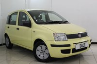 USED 2009 59 FIAT PANDA 1.1 ACTIVE ECO 5DR 54 BHP LOW MILEAGE + AIR CONDITIONING + RADIO/CD + ELECTRIC WINDOWS