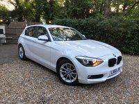 2014 BMW 1 SERIES 1.6 116D EFFICIENTDYNAMICS BUSINESS 5d 114 BHP £11489.00
