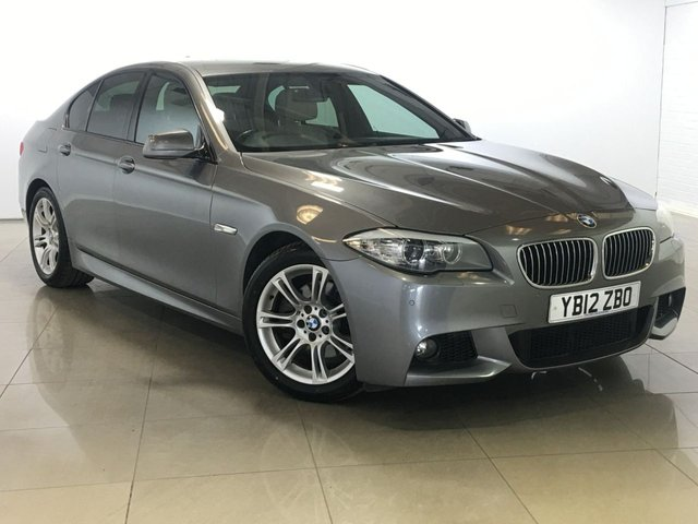 View our 2012 S BMW 5 SERIES 2.0 520D M SPORT 4d 181 BHP